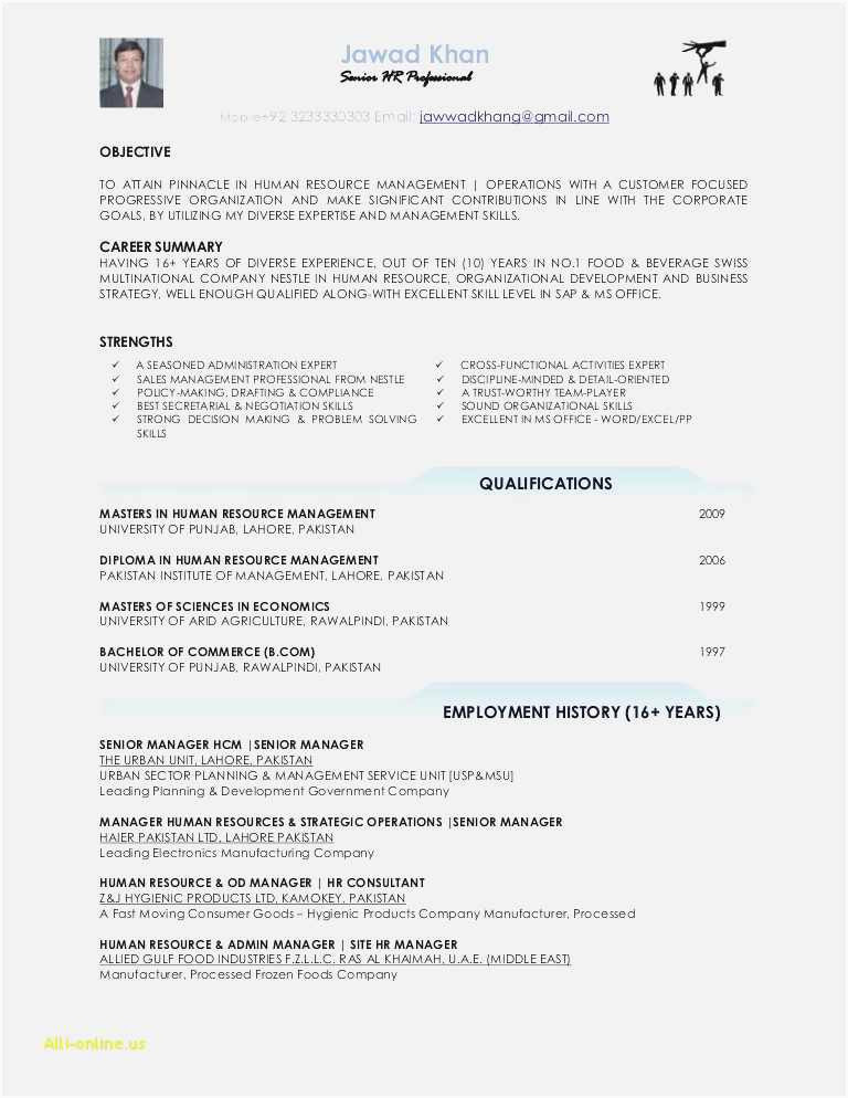 Exemple Cv Word Free 59 New Resume Templates
