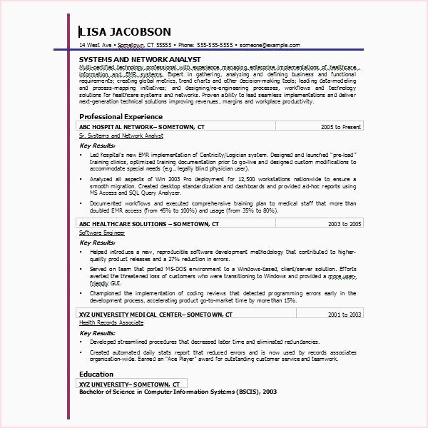 Exemple Cv Word Word formatted Resume Free Modele Cv format Word Model Cv format