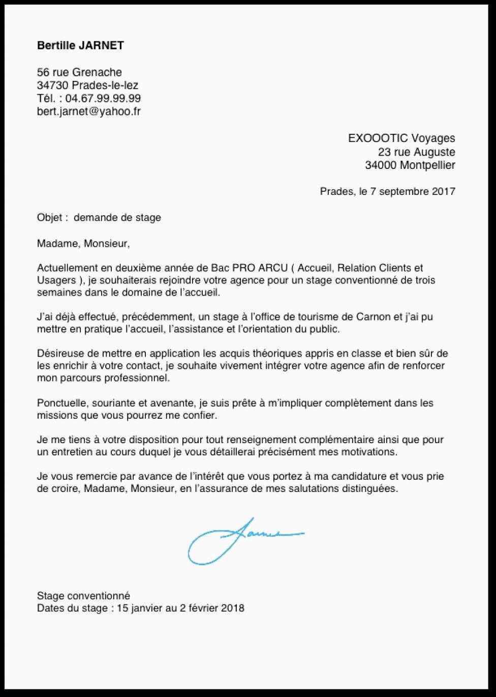 exemple de cv bac pro assp exemple lettre de motivation