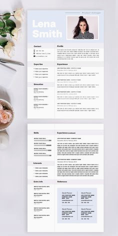 Exemple De Cv Cuisinier 65 Best Resume Words Images In 2018