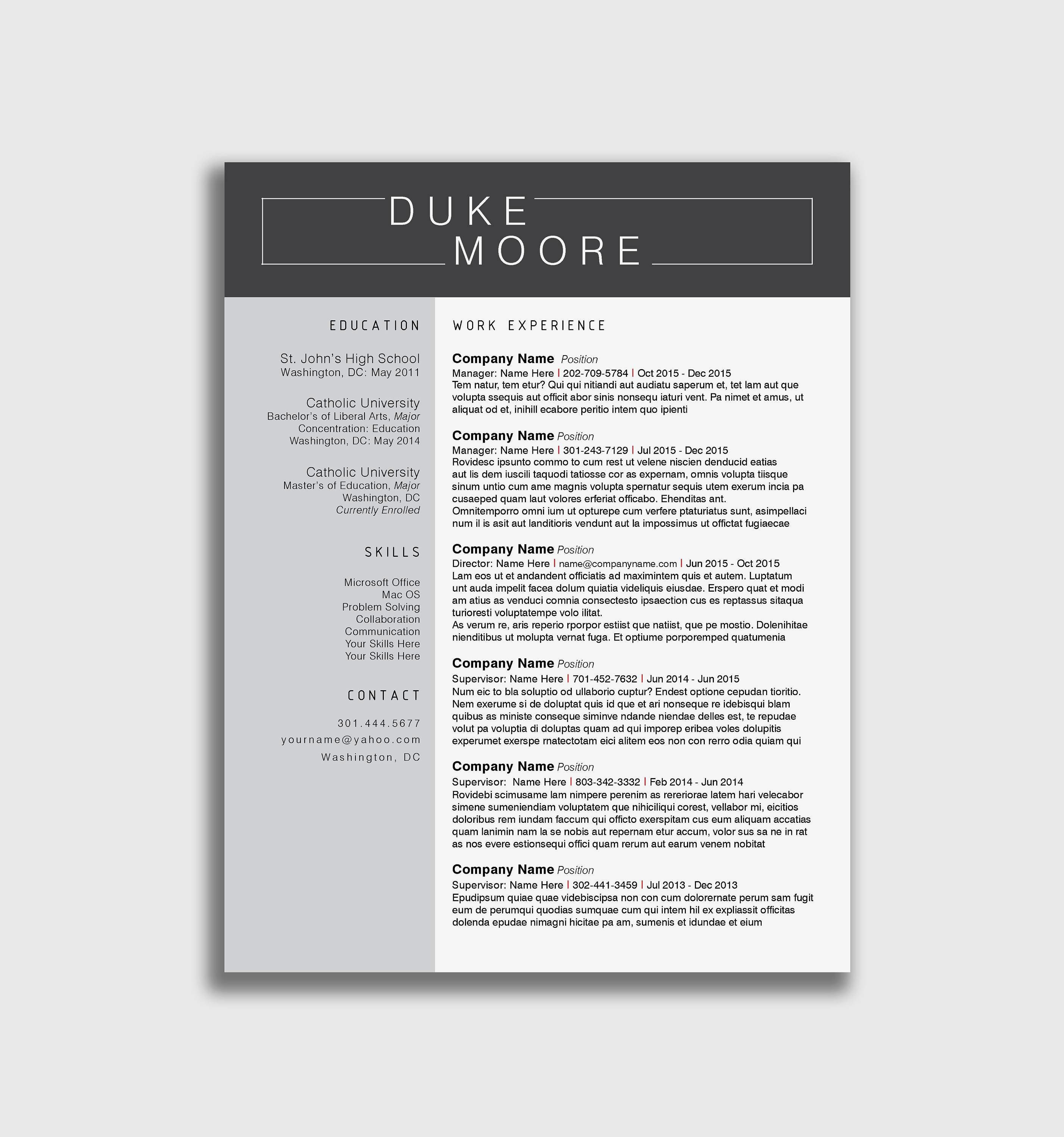 Exemple De Cv Cuisinier Example Resume D Luxury S Best Resume Samples New Resume