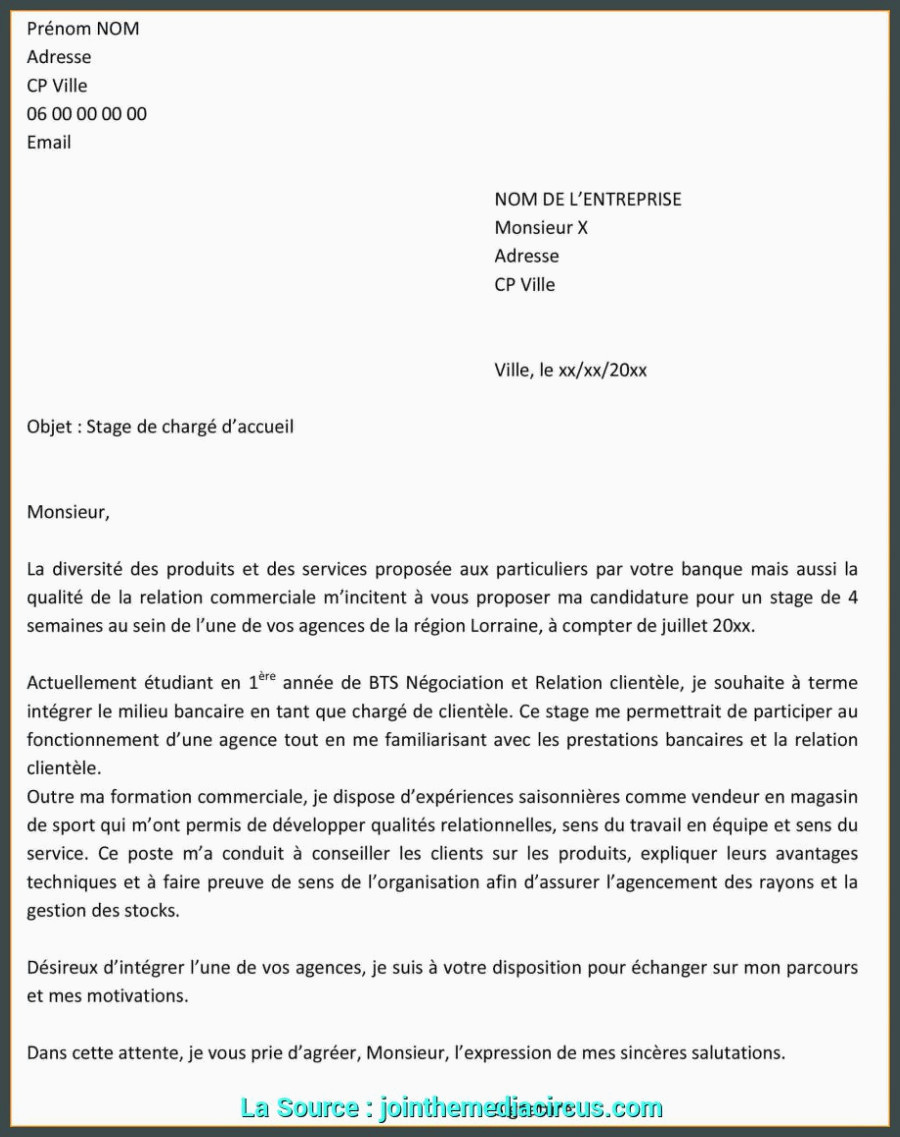 Exemple Lettre De Motivation Preparateur De Commande Idéal Exemple Lettre De Motivation Stage D Immersion Modele Cv Stage