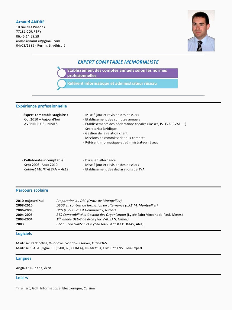 Faire son Cv En Ligne Gratuit Sans Inscription Example Cv Resume