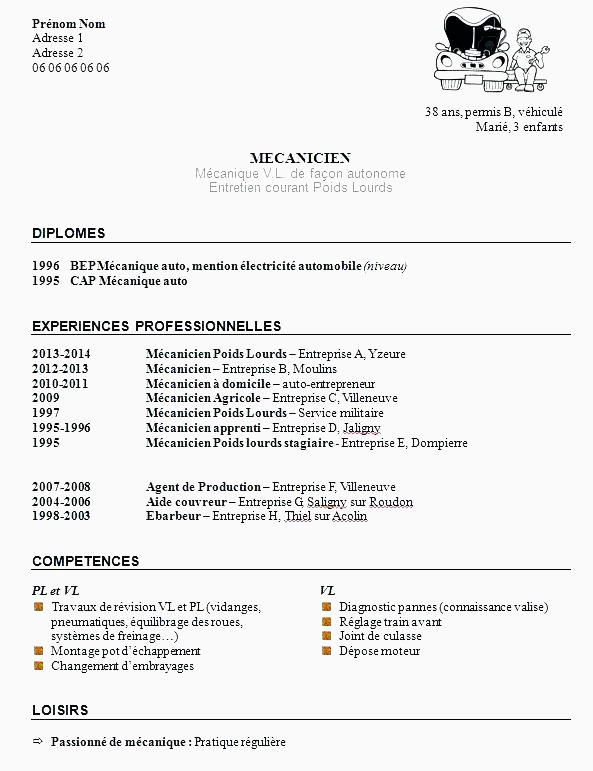 Faire Un Cv Sur Mac 13 Lettre Motivation Agent De Production Sans Experience