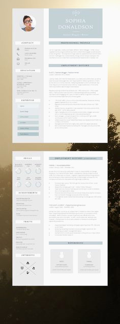 Faire Un Cv Sur Mac 80 Best Resume Ideas Images In 2017