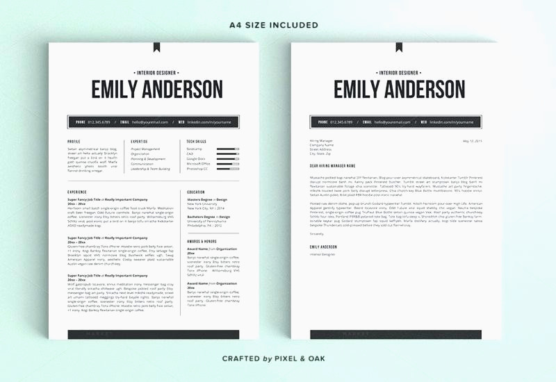 Faire Un Cv Sur Mac Ms Cv Template