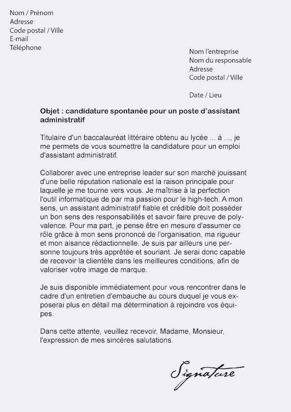 Lettre De Motivation Agent Administratif Mairie 47 Modele Lettre De Motivation Pour Mairie