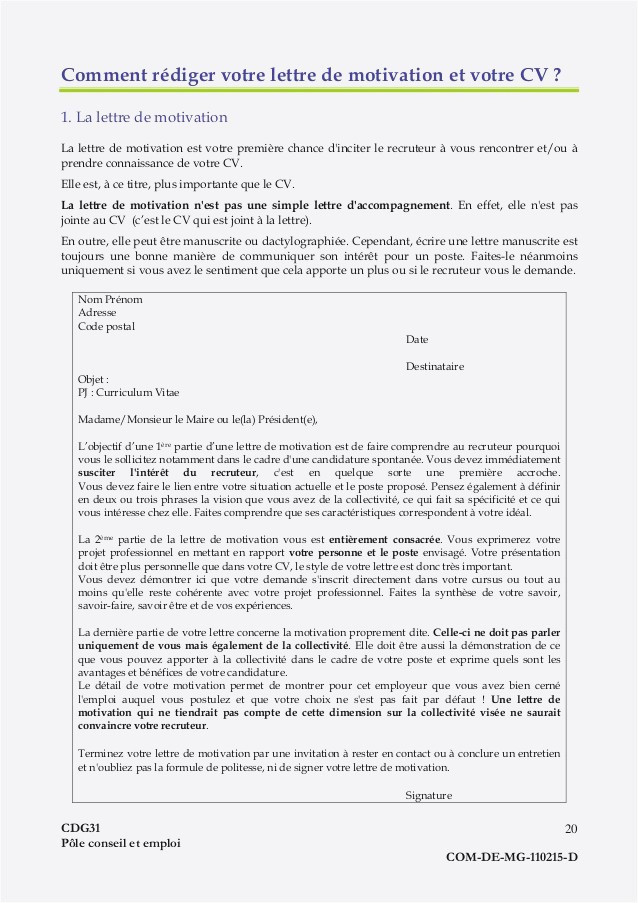 Lettre De Motivation Agent Administratif Mairie Lettre De Motivation Adjoint Administratif