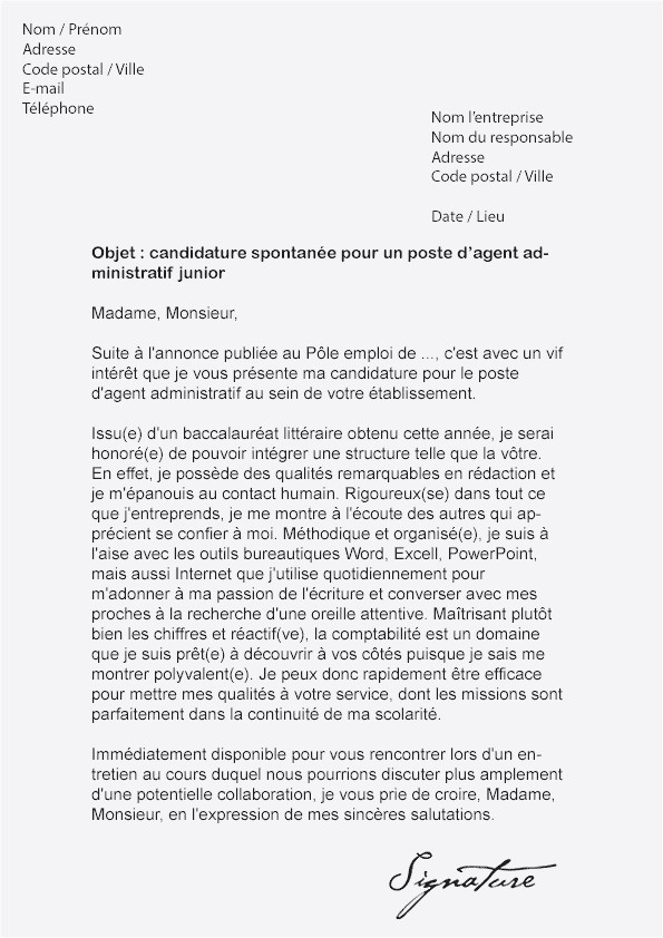Lettre De Motivation Agent Administratif Mairie Lettre De Motivation Agent Administratif