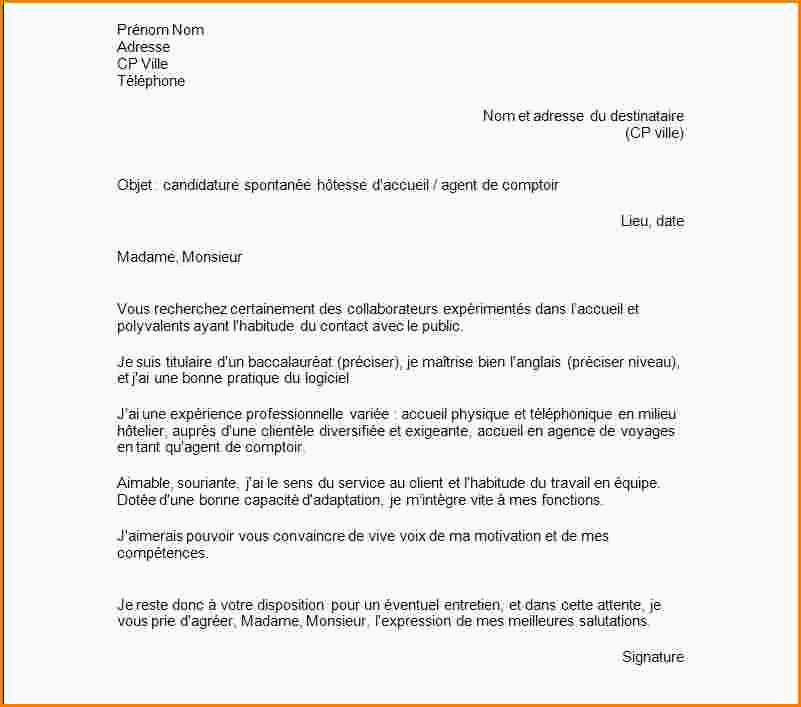 Lettre De Motivation Agent De Production Avec Experience 15 Lettre De Motivation Agent D Entretien Debutant