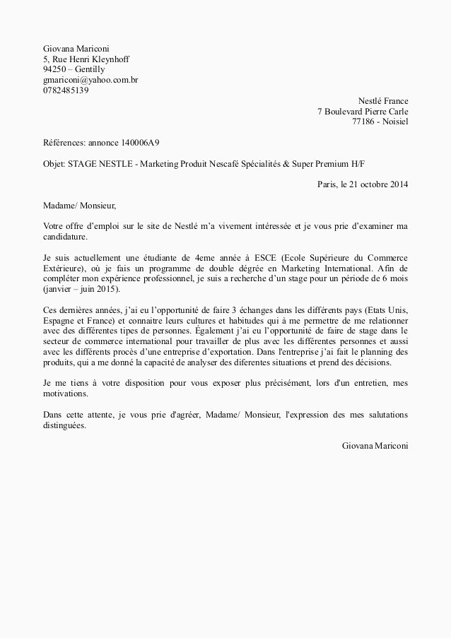 Lettre De Motivation Agent De Production Avec Experience Exemple Lettre De Motivation Blanchisserie Sans Experience Lettre De