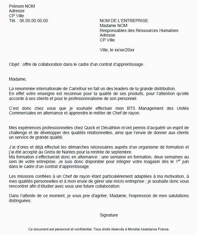 Lettre De Motivation assistant Education 10 Lettre De Motivation assistant Export