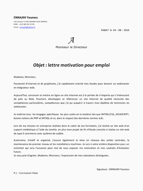 Lettre De Motivation assistant Education 14 Exemple De Lettre De Motivation Demande D Emploi