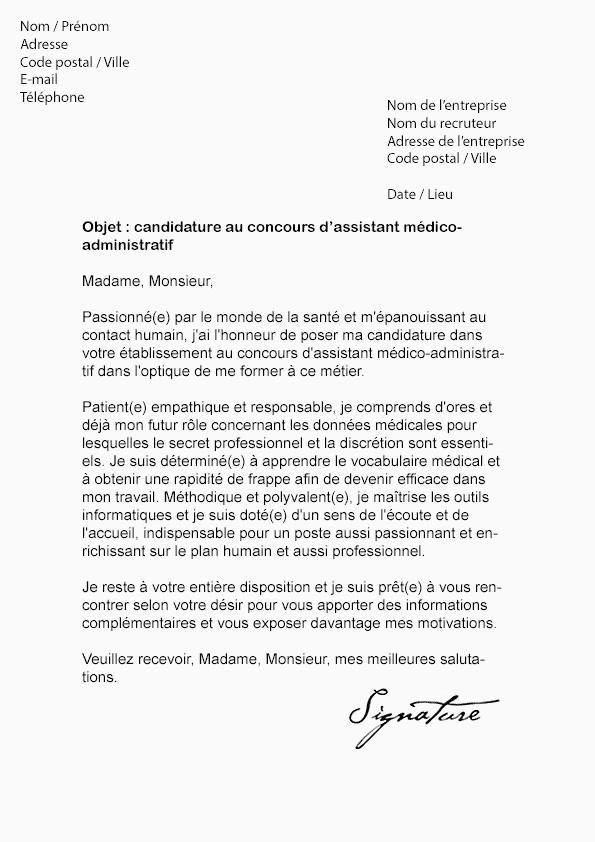 Lettre De Motivation assistant Education 15 Exemple Lettre De Motivation assistant Administratif