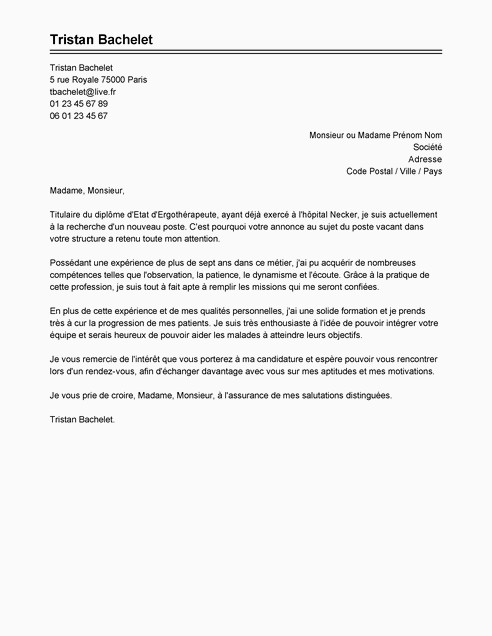 Lettre De Motivation assistant Education 15 Lettre De Motivation assurance Sans Expérience