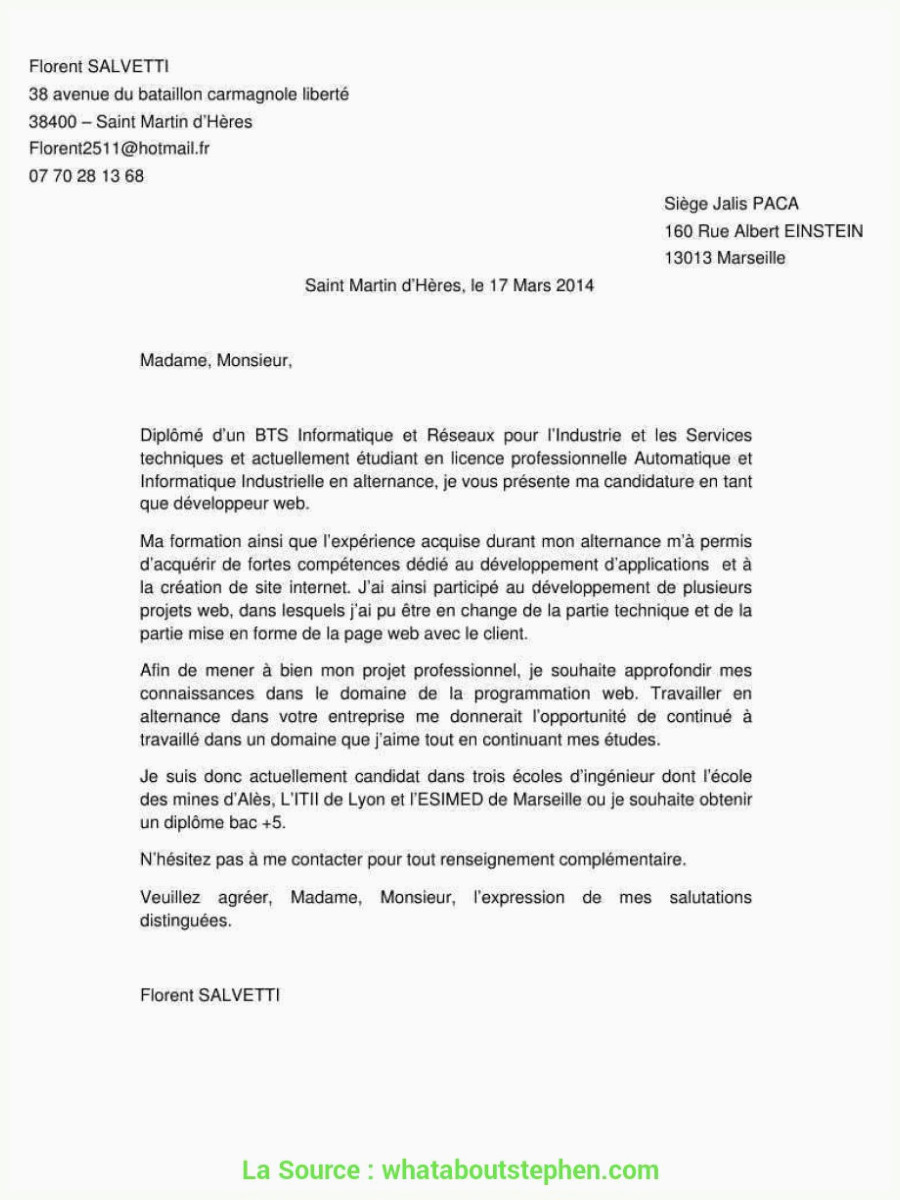 Lettre De Motivation assistant Education Agréable Lettre De Motivation D assistant D éducation Lettre De