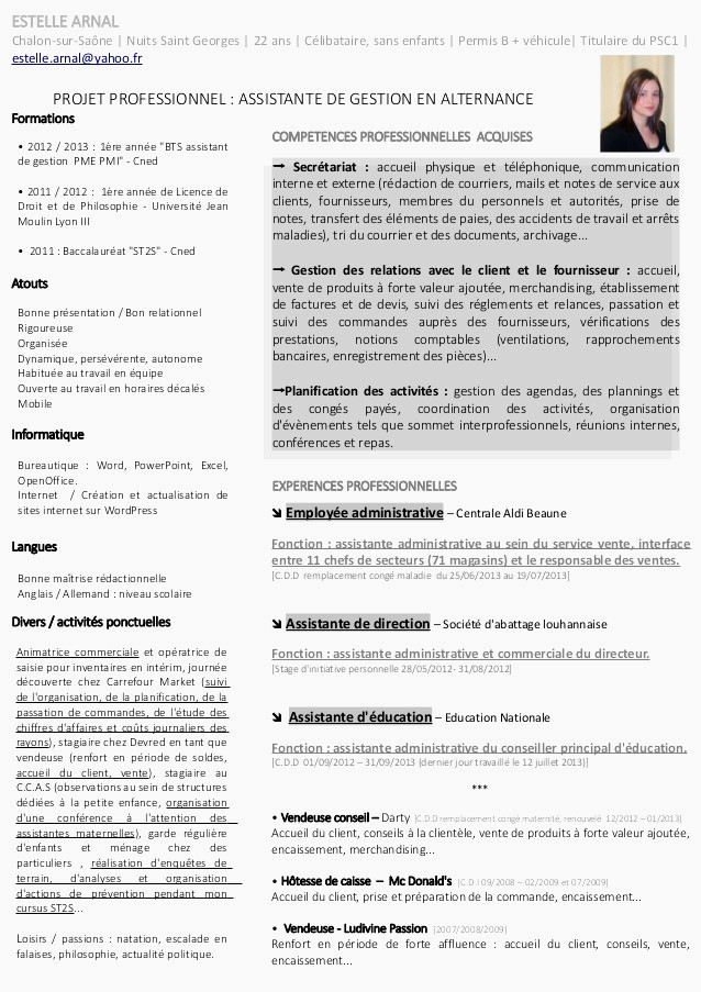 Lettre De Motivation assistant Education Cv assistante sociale Unique Image Modele Cv assistante Merciale
