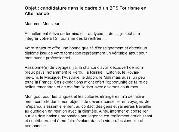 Lettre De Motivation Bts Alternance Ecole Trouver Un Contrat En Alternance Collections De Lettre De Motivation