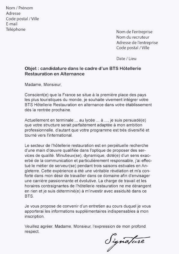 Lettre De Motivation Bts Alternance Immobilier Exemple De Lettre De Motivation Pour De L Alternance Exemple Cv Bts