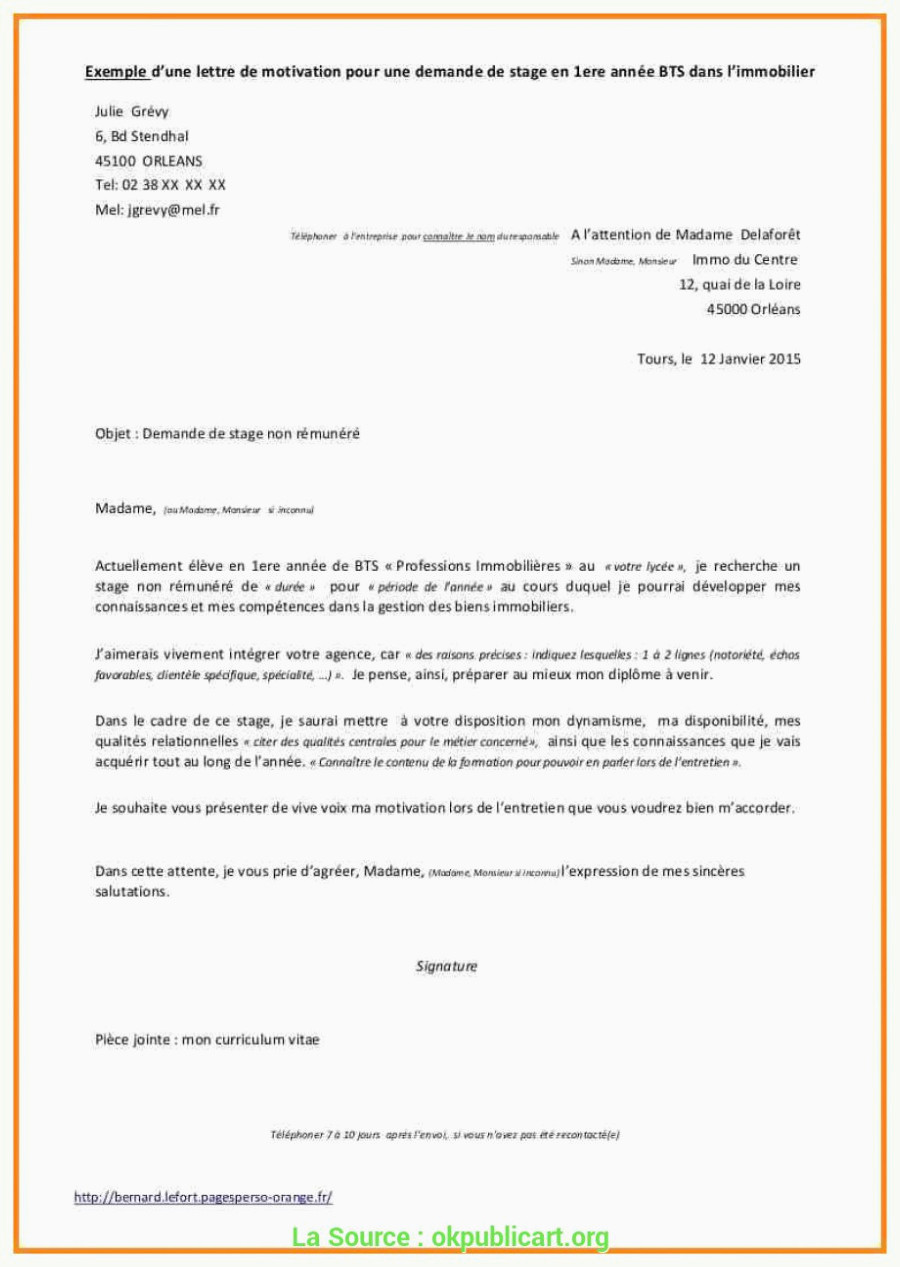 Lettre De Motivation Bts Profession Immobiliere De Valeur Modele Lettre De Motivation Agent Immobilier Lettre De
