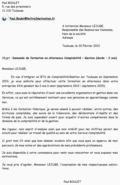 Lettre De Motivation Bts Profession Immobiliere Lettre De Motivation Alternance Rh Frais L Alternance Au Sein D
