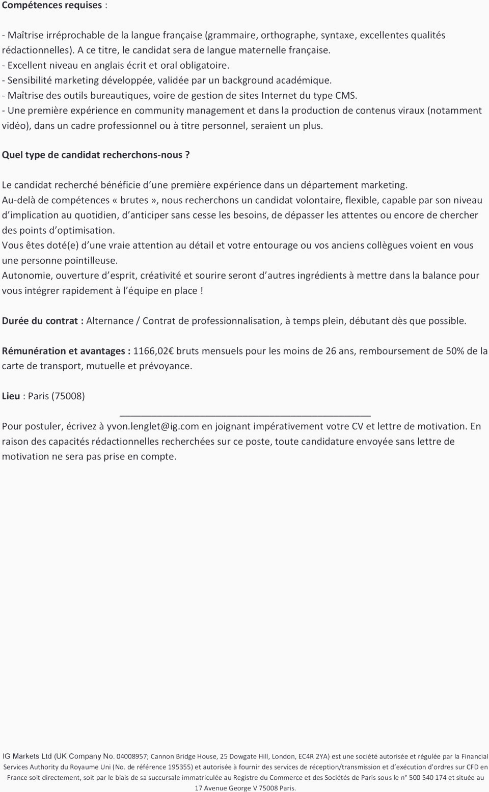 Lettre De Motivation Bts Profession Immobiliere Lettre De Motivation Bts Immobilier