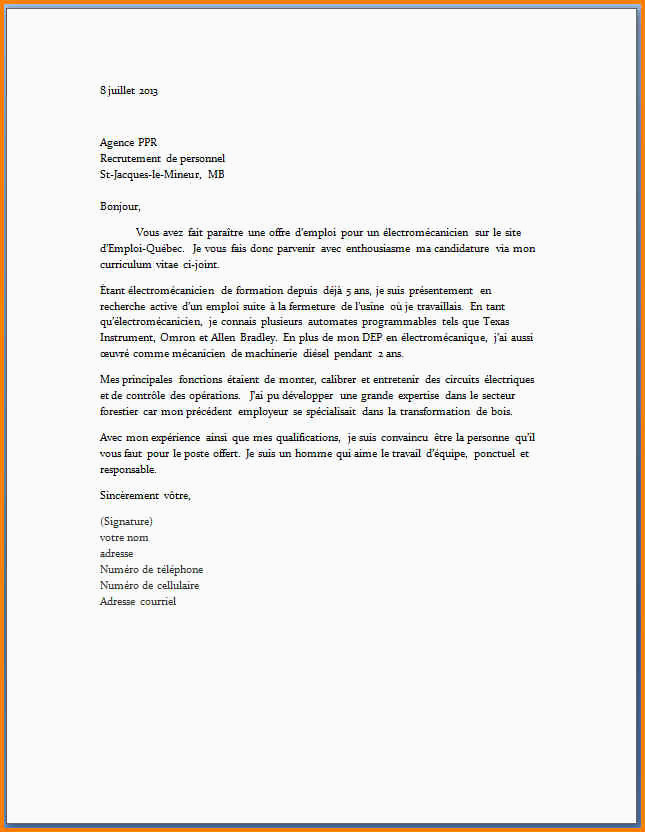 Lettre De Motivation Cariste Lettre De Motivation Coiffure En Alternance Cv Contrat D