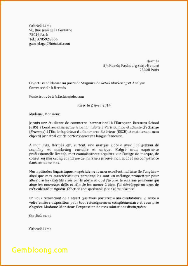 Lettre De Motivation College Exemple Cv Post Bac Fuites Lettre Motivation Post Bac Exemple Nysc