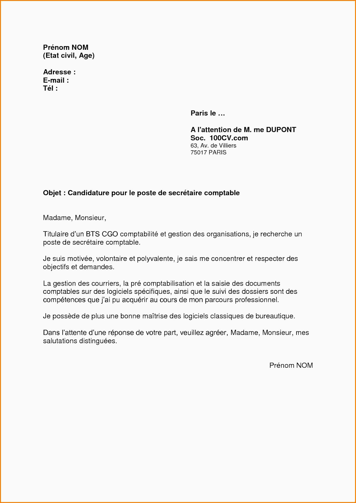 Lettre De Motivation Deaes 12 Exemple Lettre De Motivation Vendeuse