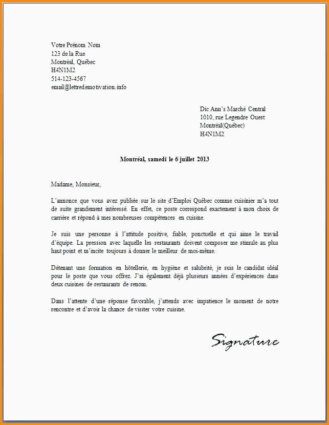 Lettre De Motivation Deaes 31 Modele Lettre Service Hygiene Restaurant