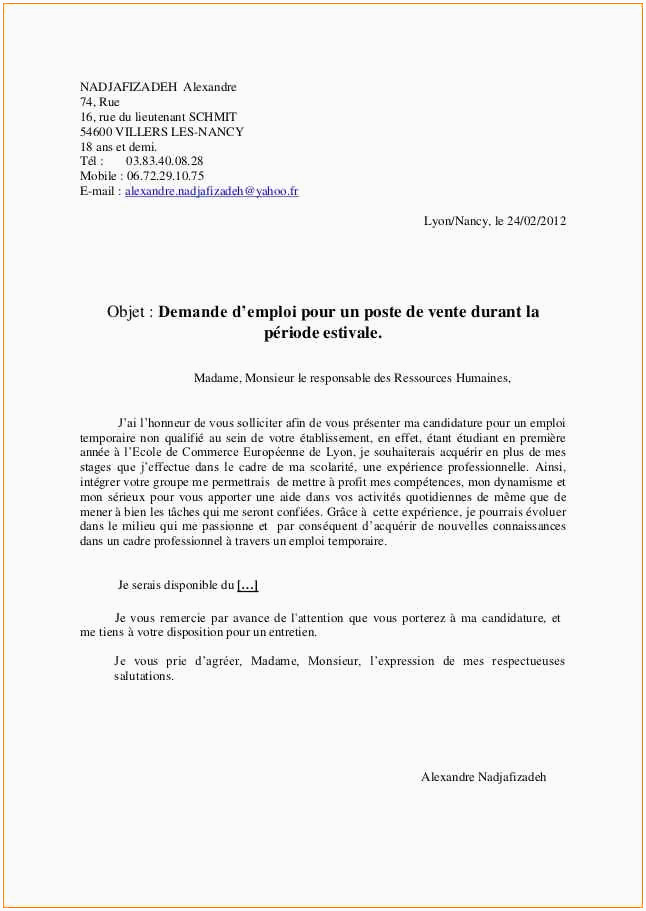 Lettre De Motivation formateur Lettre De Motivation Professeur Contractuel