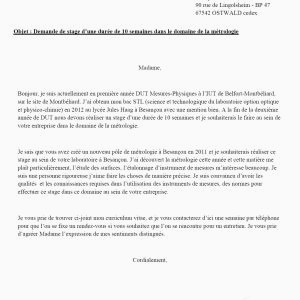 Lettre De Motivation Immersion Professionnelle Les Meilleur Exemple Lettre De Motivation Stage Conseiller En