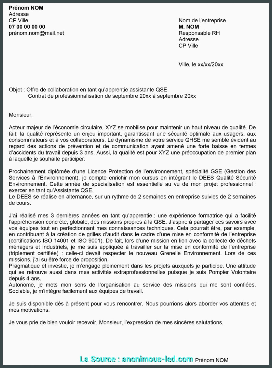 Lettre De Motivation Licence Rh Alternance Expert Lettre De Motivation Alternance Master Ressources Humaines