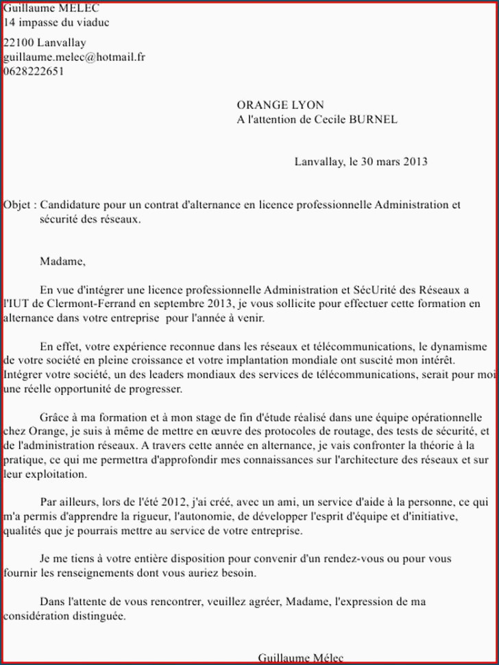 Lettre De Motivation Licence Rh Alternance Lettre De Motivation Alternance Génial Lettre Motivation Licence Pro