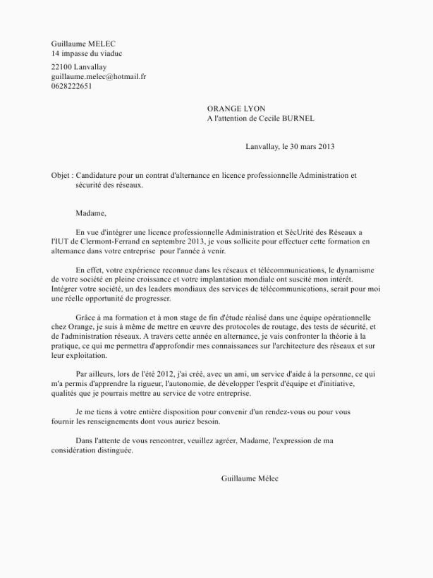 Lettre De Motivation Licence Rh Alternance Lettre De Motivation Pour formation En Alternance Lettre Motivation
