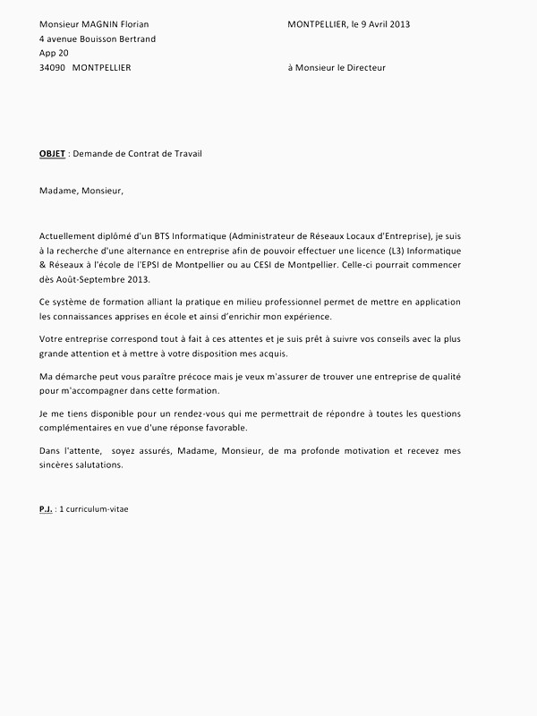 Lettre De Motivation Licence Rh Alternance Lettre Motivation Bts Muc Alternance Unique Exemple Lettre De