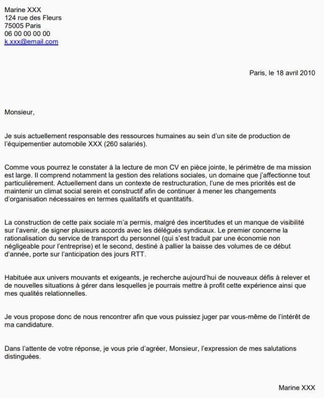 Lettre De Motivation Master Rh 15 Lettre De Motivation assistant Administratif