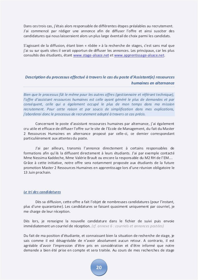 Lettre De Motivation Master Rh Lettre De Motivation Demande De formation
