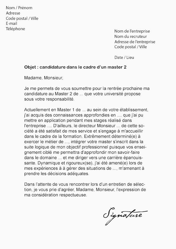 Lettre De Motivation Master Rh Lettre De Motivation Master En Alternance Beau Lettre De Motivation