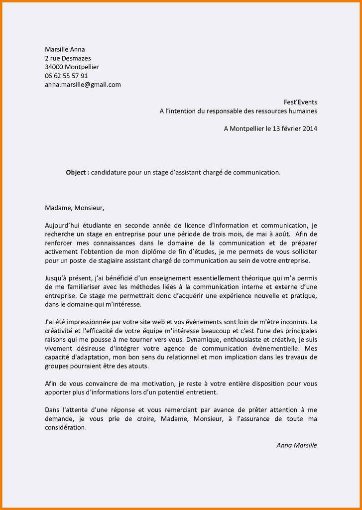 Lettre De Motivation Master Rh Lettre De Motivation Master Rh