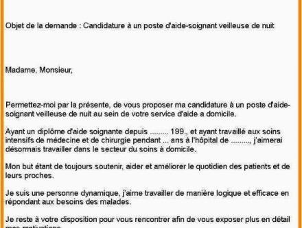 Lettre De Motivation Monoprix Aepp