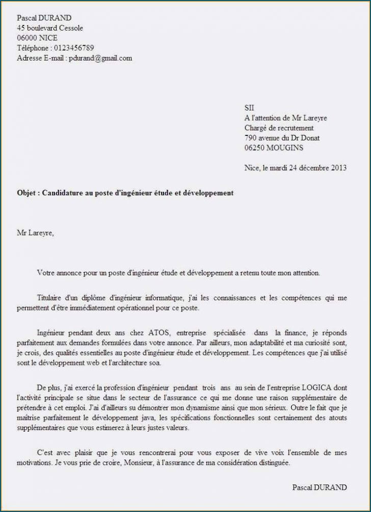 Lettre De Motivation Monoprix Lettre De F Licitations Poste Mod Le