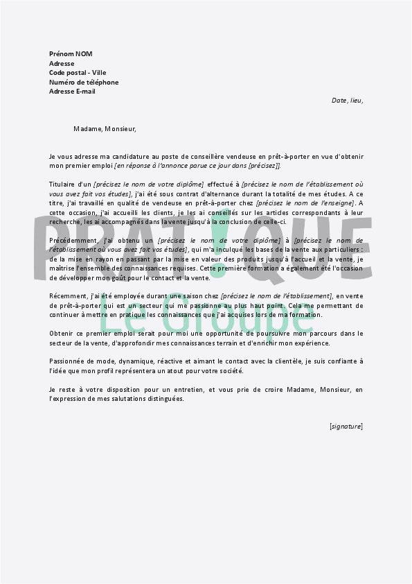 Lettre De Motivation Monoprix Lettre De Motivation soudeur