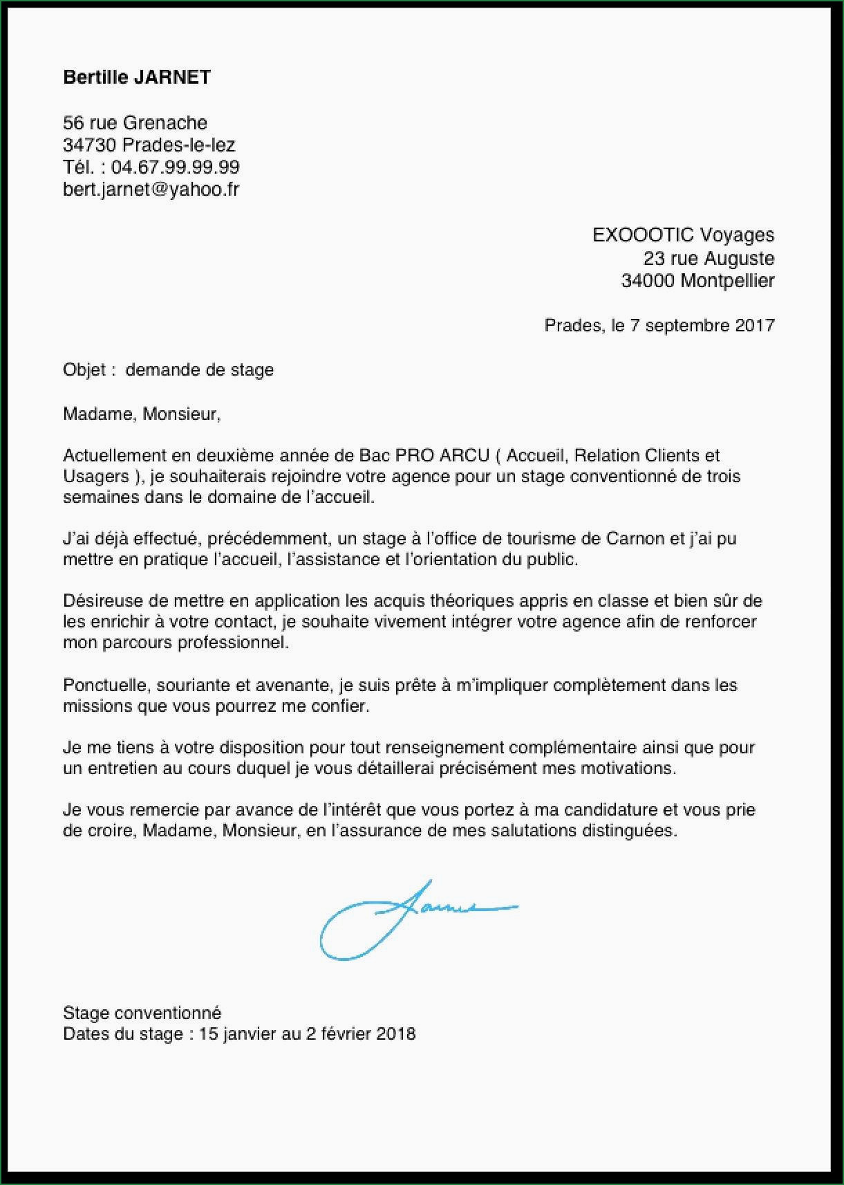 Lettre De Motivation Pharmacie Lettre De Motivation Stage 3eme Veterinaire Exemple