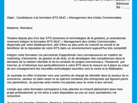 Lettre De Motivation Pour Bts assistant Manager Buyintuscany