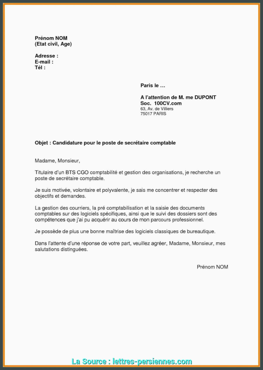 Dernier Lettre De Motivation Pour Inscription Assistant Manager