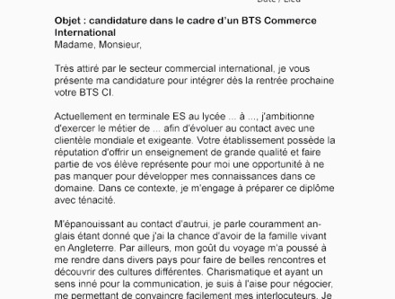 Lettre De Motivation Pour Bts Communication Hostal Dels Trabucayres