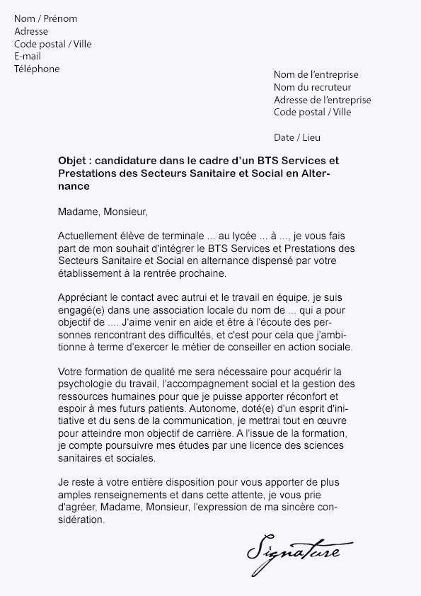 Lettre De Motivation Pour Le Bts 63 Unique De Exemple Lettre De Motivation Bts