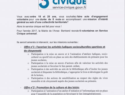 Lettre De Motivation Pour Un Service Civique Aepp