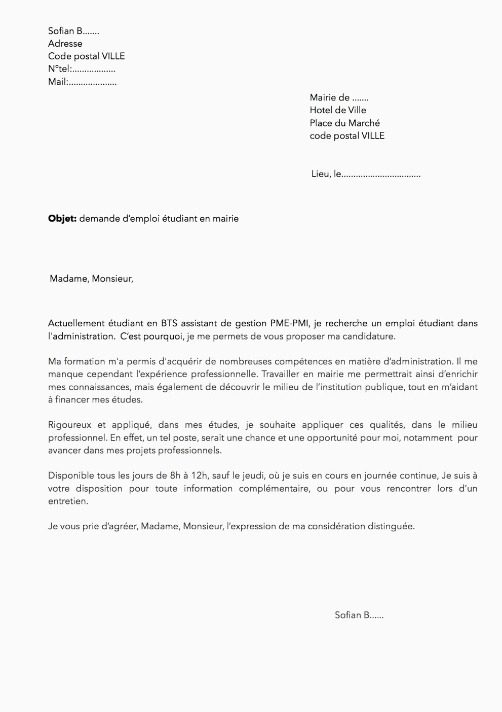 Lettre De Motivation Pour Un Service Civique Cv Pour Service Civique Simple Exemple Lettre De Motivation Coiffure